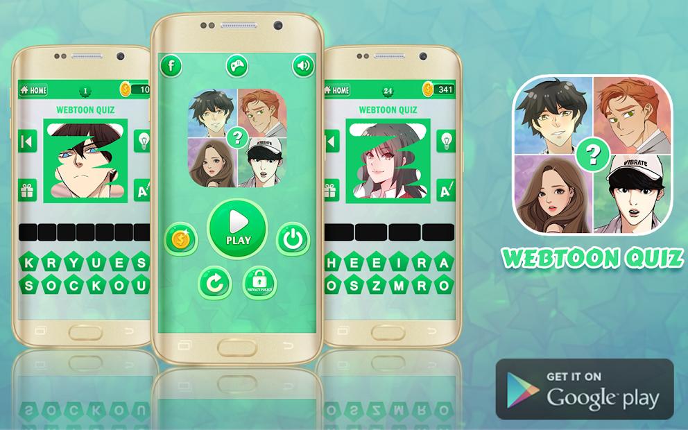 Screenshot 14 de Webtoon Quiz para android