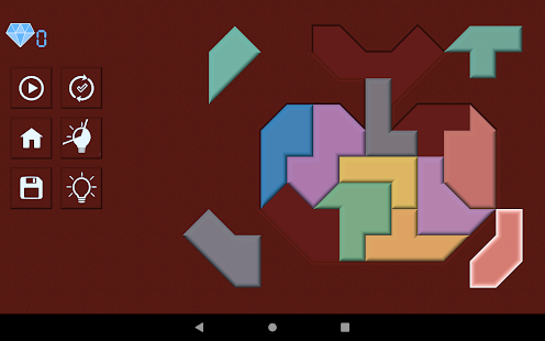 Poly Shape - Tangram Puzzle Game
