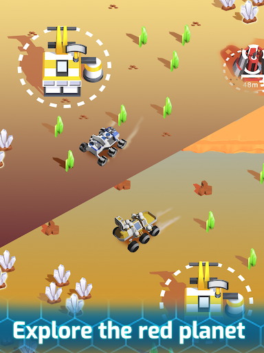 Space Rover: idle planet mining tycoon simulator 1.93 screenshots 18