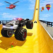 Crazy Monster Truck Ramp Stunt Game 2021