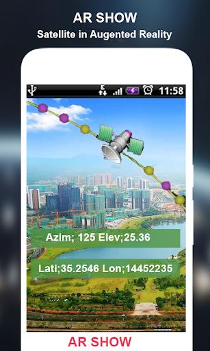 Satelite Finder(Dish Align)&Land Area Calculator 1.0.8 screenshots 4