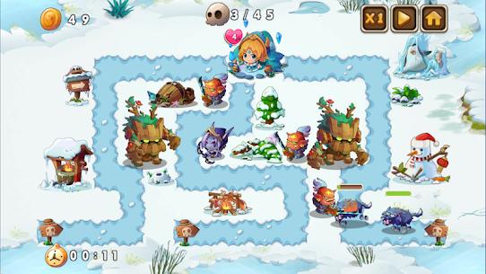 Heroes Defender Fantasy – Epic Tower Defense Game 1.1 Apk 5