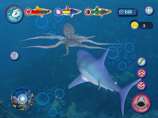 Ocean Shark Simulator u2013 Animal Attack Simulator 0.1 screenshots 10