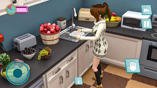 Pregnant Mother Anime Games:Pregnant Mom Simulator  screenshots 4