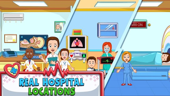 My Town : Hospital For Android [MOD, Paid] 3