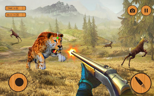Wild Animals Hunting Games 3D  screenshots 12