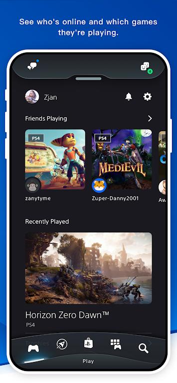 PlayStation App  poster 1
