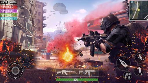 fps shooting games : commando offline gun games android2mod screenshots 14