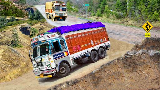 Code Triche Indian Truck Evolution (Simulator) - Hill Driving (Astuce) APK MOD screenshots 5