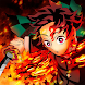 4K Tanjiro Komando - Kimetsu no Yaiba Wallpaper - Androidアプリ