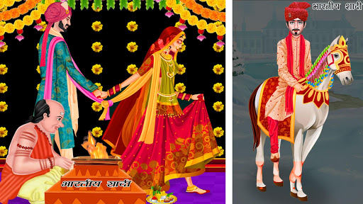 Indian Winter Wedding Arrange Marriage Girl Game  screenshots 9