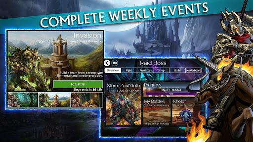 Gems of War - Match 3 RPG screenshots 4