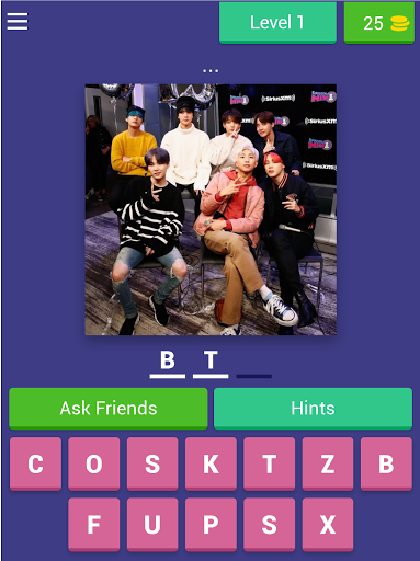 BTS ARMY - word quiz game 2020 android2mod screenshots 8