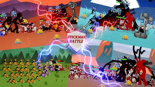 Stickman Battle 2021: Stick War Fight Apk Mod + OBB/Data for Android. 7
