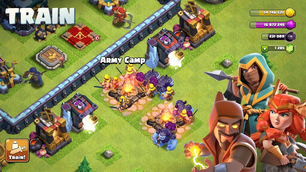Clash of Clans poster 11