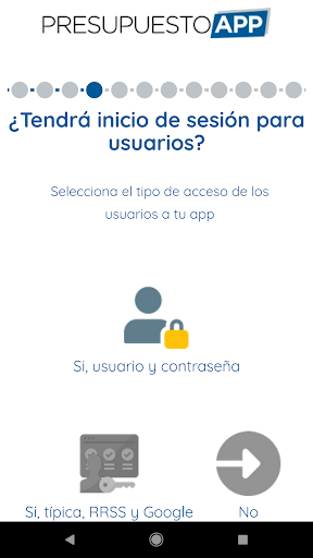Presupuesto App  screenshots 4