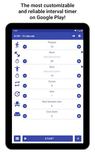 Tabata Timer: Interval Timer Workout Timer HIIT 5.2.1 Screenshots 17