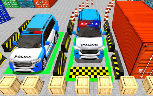 Police Jeep Spooky Stunt Parking 3D 0.4 Screenshots 5