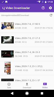 Lj Video Downloader (m3u8, mp4, mpd) Screenshot