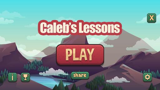caleb's lessons screenshot 2
