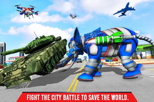 Police Elephant Robot Game: Police Transport Games 1.0.9 Screenshots 3