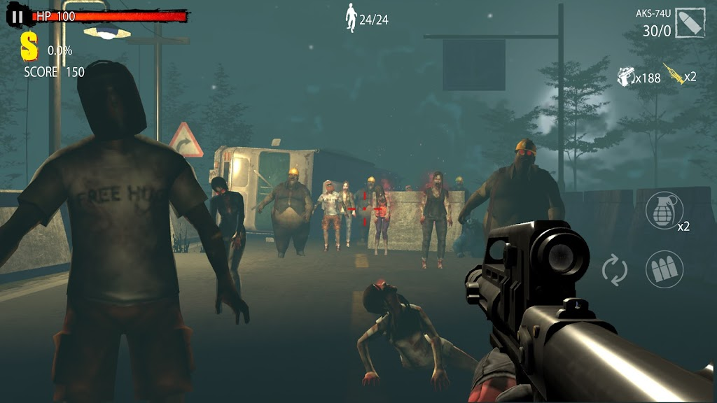 Zombie Hunter D-Day poster 7