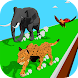 Animal Transform Race: Epic Race 3D