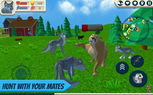 Wolf Simulator: Wild Animals 3D 1.050 screenshots 1