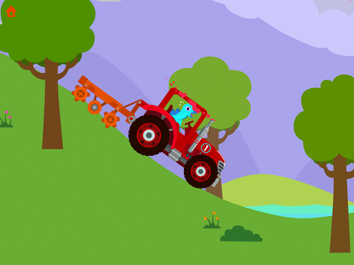 Dinosaur Farm - Tractor simulator games for kids screenshots 21
