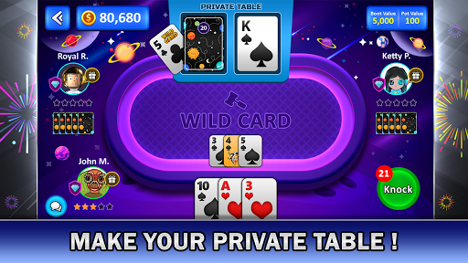 Tonk Online : Multiplayer Card Game android2mod screenshots 3