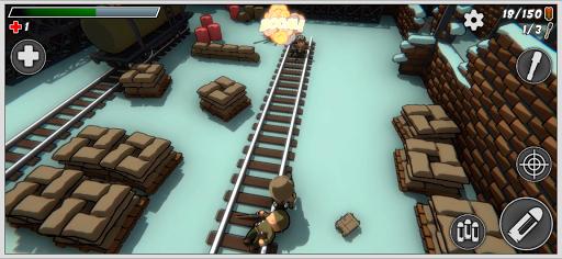 Mini Soldiers: Battle royale 3D screenshots 15