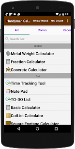 Handyman Calculator Pro MOD APK 1
