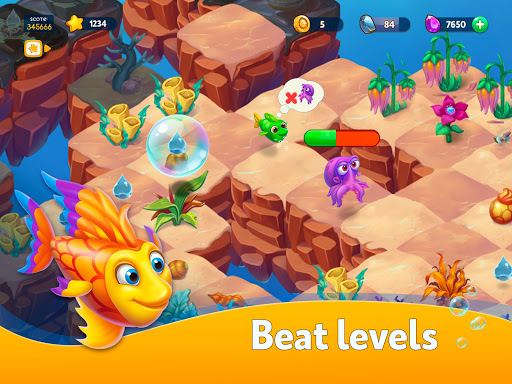 Sea Merge! Fish Aquarium Game & Ocean Puzzle  screenshots 7