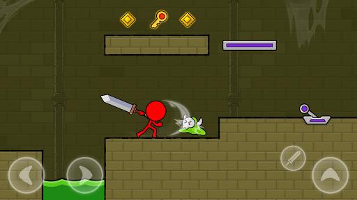 Red Stickman : Animation vs Stickman Fighting android2mod screenshots 4
