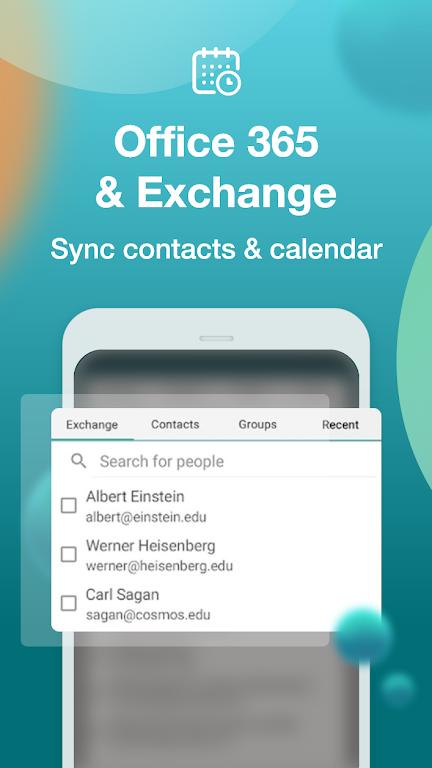 Email Aqua Mail - Exchange, SMIME, Smart inbox poster 7