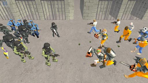 Battle Simulator: Prison & Police apktram screenshots 18