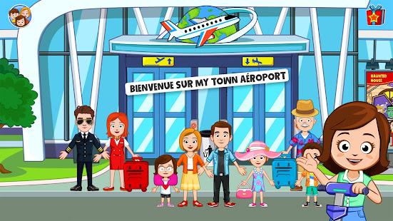 My Town : Aéroport screenshots apk mod 1