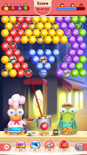 Kitten Games - Bubble Shooter Cooking Game apkmr screenshots 8