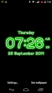 Neon Digital Clock Live For Pc – Free Download On Windows 10, 8, 7 3