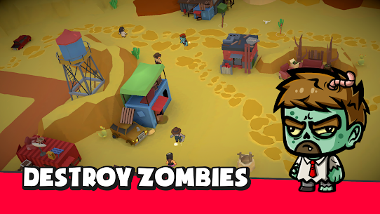 BattleZombie Royale 1.4.1 MOD + APK + DATA Download 3