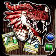 Immortal Fantasy: Immortal Heroes, Dice RPG card