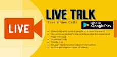 Live Talk - Random Video Chat with Strangersのおすすめ画像1