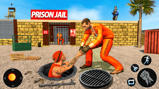 US Police Grand Jail Break Prisoner Escape Games 2.2 screenshots 1