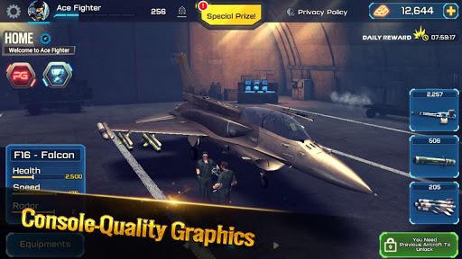 Ace Fighter: Combat aérien APK MOD – ressources Illimitées (Astuce) screenshots hack proof 2