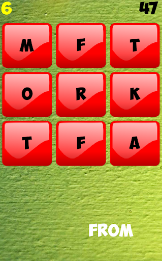 where are the words? screenshot 1