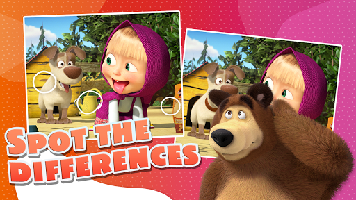 Masha and the Bear - Game zone screenshots 21