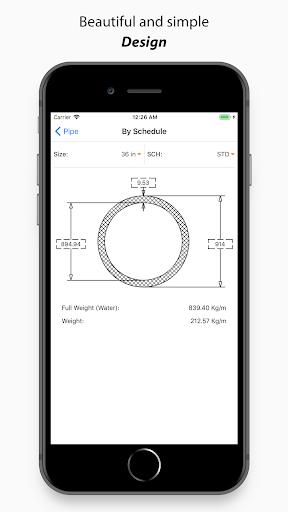piping toolbox: asme, flange, fitting engineering screenshot 2