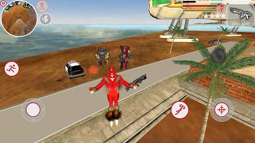 Super Iron Rope Hero - Fighting Gangstar Crime 3.6 Screenshots 2