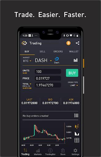 ProfitTrading For Binance - Trade much faster  screenshots 1