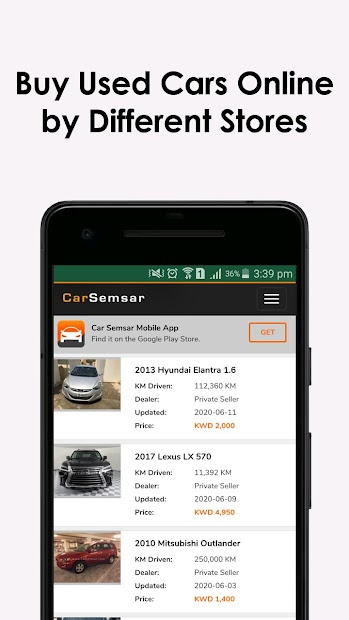 Imágen 4 de Used Cars in Kuwait para android